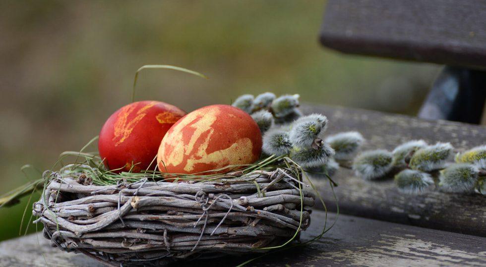 Ouăle roșii, simbolul Învierii Domnului